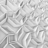 Geometrisk modell för färgabstrakt begrepppolygoner Arkivfoton