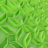 Geometrisk modell för färgabstrakt begrepppolygoner Arkivfoto