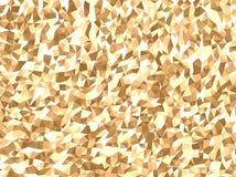 Geometrisk modell för guld- effekt arkivfoto