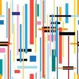 Geometrisk modell för sömlös härlig färg Arkivfoto