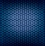 Geometrisk modell för vektor av sexhörningar Royaltyfria Bilder