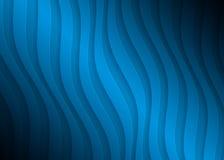 Geometrisk modell för blått papper, abstrakt bakgrundsmall för websiten, baner, affärskort, inbjudan Arkivbild