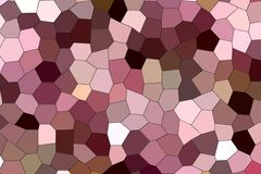 Geometrisk modell i neutrala pastellfärgade färger Royaltyfri Foto