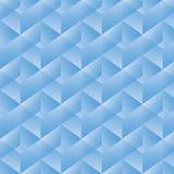 Geometrisk modell med blåa rektanglar också vektor för coreldrawillustration Royaltyfri Fotografi