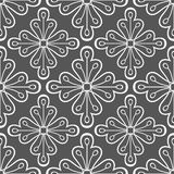 Geometrisk modell med blommor Royaltyfria Foton
