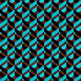 Geometrisk modellbakgrund Arkivfoto