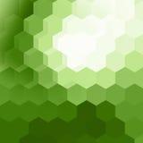 geometrisk modellbakgrund för hexaon Arkivfoto