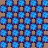 Geometrisk modellsnöflinga Fotografering för Bildbyråer