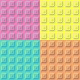 Geometrisk modelltextur seamless vektor för bakgrund Fotografering för Bildbyråer