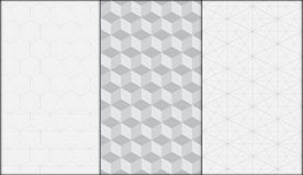 Geometrisk modern sömlös modellvektorbakgrund Royaltyfri Foto