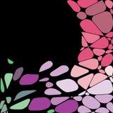 geometrisk mosaik för abstrakt bakgrund Arkivbild