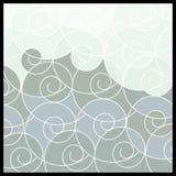 geometrisk mosaik för abstrakt bakgrund stock illustrationer