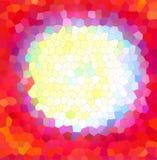 Geometrisk mosaikbakgrund Royaltyfria Bilder