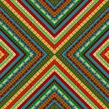 Geometrisk motivbakgrund f?r kul?r afrikan stock illustrationer