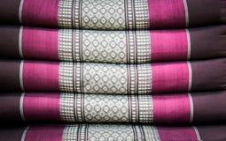 Geometrisk motivmodell för etnisk dekorativ textil arkivbilder