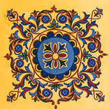 Geometrisk ottomanmodell Royaltyfria Foton