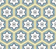 Geometrisk pattern-12 stock illustrationer