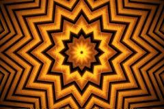 geometrisk prydnad Arkivfoto