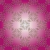 geometrisk prydnad Arkivbild