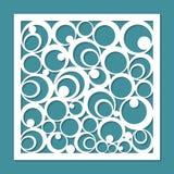 Geometrisk prydnadmall Royaltyfri Fotografi