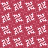 Geometrisk röd sömlös modell färgad bakgrund