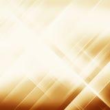 Geometrisk randig prydnad abstrakt bakgrund Linjär guld Arkivbild