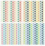 Geometrisk repetitionmodell arkivfoton