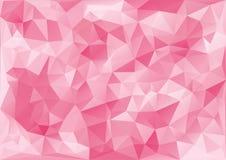 Geometrisk rosa modell vektor illustrationer