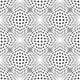 Geometrisk rutig sömlös modell för vektor med kubikformer effekt för optisk illusion för volym 3D royaltyfri illustrationer