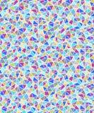 Geometrisk sömlös bakgrund för enkla triangulära former royaltyfri illustrationer