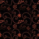 Geometrisk sömlös modell för blomma Modediagram Basera illustrationen för annonser! förlägga en föreställa av din produkt Modern  Royaltyfria Bilder