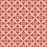 Geometrisk sömlös modell för skraj stil med enkla diagram rosa red för färger stock illustrationer