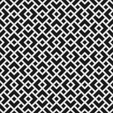 Geometrisk sömlös modell med överlappande romber Fotografering för Bildbyråer