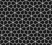 Geometrisk sömlös modell med pentagons stock illustrationer