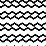 Geometrisk sömlös modell med svarta rektanglar också vektor för coreldrawillustration royaltyfri illustrationer