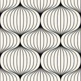 Geometrisk sömlös modellvektor Arkivbild