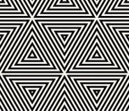 Geometrisk sömlös modellvektor Arkivbilder