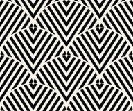 Geometrisk sömlös modellvektor Royaltyfria Bilder