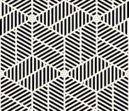 Geometrisk sömlös modellvektor Royaltyfri Fotografi