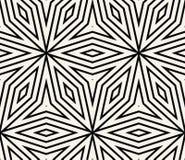 Geometrisk sömlös modellvektor Arkivfoton
