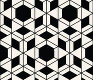 Geometrisk sömlös modellvektor Royaltyfri Foto
