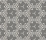 Geometrisk sömlös modellvektor Royaltyfri Bild