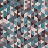 Geometrisk sömlös triangelharlekinmodell Royaltyfri Bild