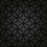 Geometrisk sömlös vektorabstrakt begreppmodell Arkivfoto