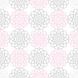 Geometrisk sömlös vektormodell enkel textur geometristil Royaltyfria Foton