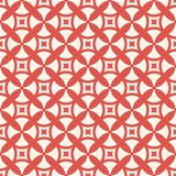Geometrisk s?ml?s modell f?r skraj stil med enkla diagram r?d och beige f?rg vektor illustrationer