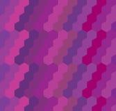 Geometrisk sexhörningsbakgrund Arkivbild