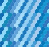 Geometrisk sexhörningsbakgrund Arkivfoton