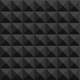 Geometrisk svart bakgrund Royaltyfria Foton