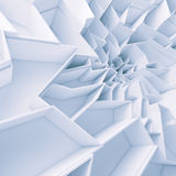 Geometrisk tapet för färgabstrakt begrepppolygoner Arkivfoto